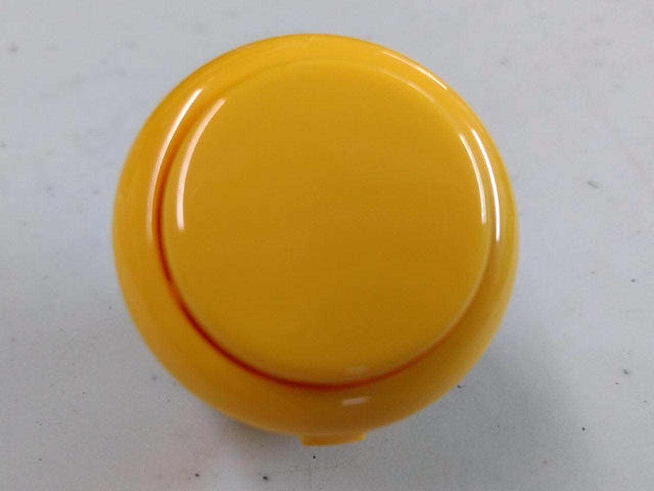 Sanwa Button Solid Colour OBSF-30mm Pushbutton (Yellow)