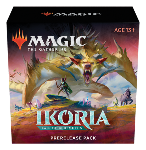 MTG Ikoria Prerelease Kit (Comes with 2 additional packs)