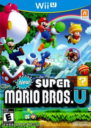 New Super Mario Bros. U - Wii U (Pre-owned)