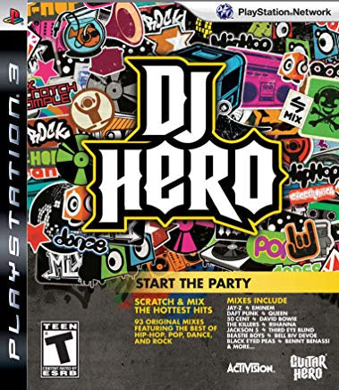 DJ Hero (Game Only) - PS3 (Pre-owned)