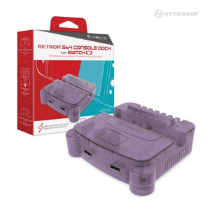 HYPERKIN RetroN S64 Console Dock for Switch (Purple)