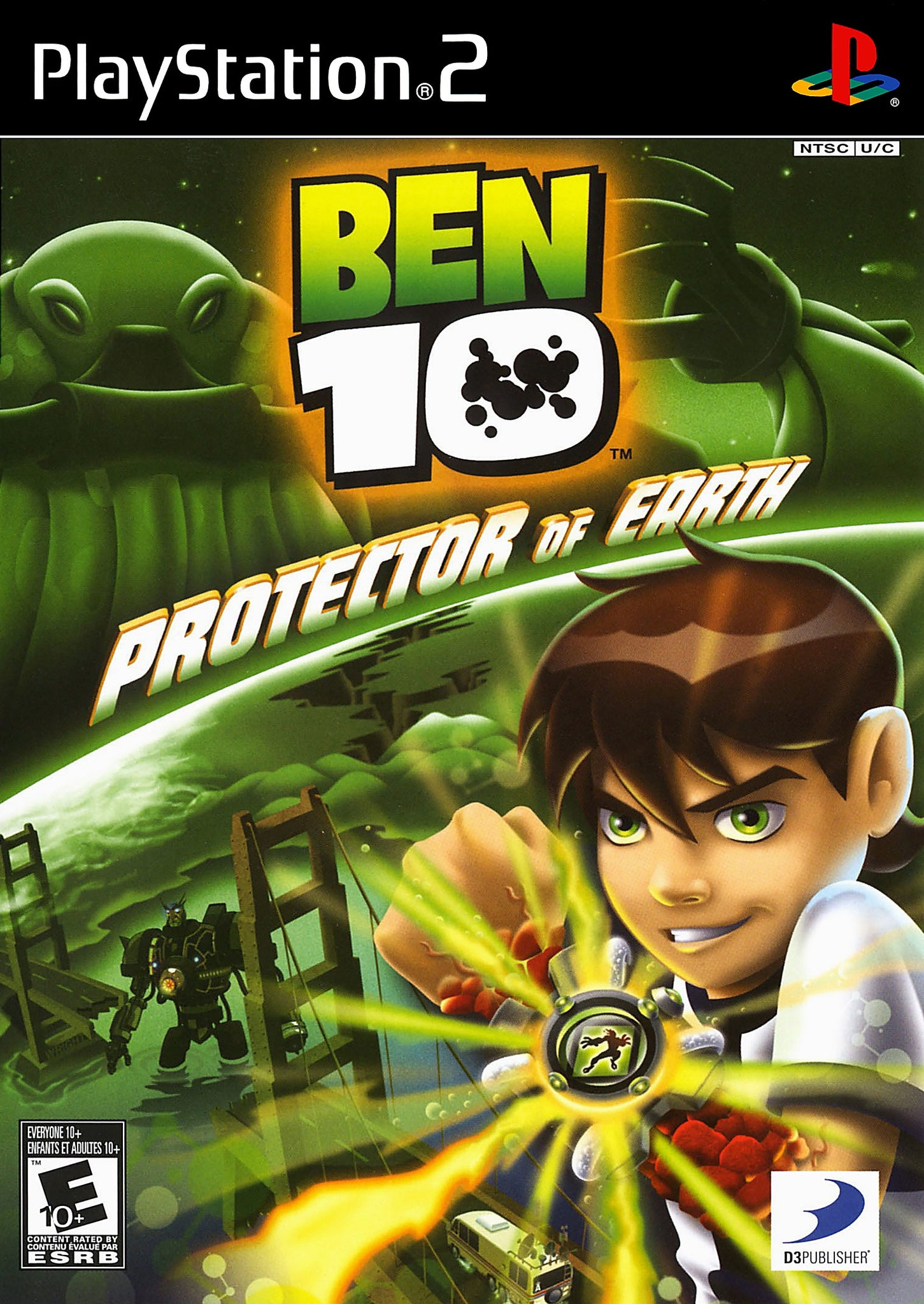 Ben 10 Protector of Earth - PS2 (Pre-owned)