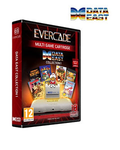 Evercade Data East Collection Cartridge Volume 1