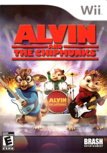 Alvin and The Chipmunks The Game - Wii (Pre-owned)