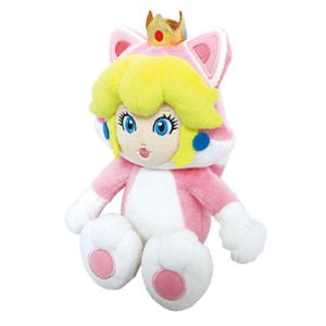 "CAT PEACH 10"" PLUSH"