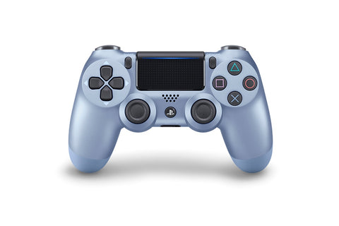 (Front Lit) DualShock 4 PlayStation 4 Controller Wireless Controller PS4 (Titanium Blue)