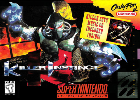 Killer Instinct - SNES (Pre-owned)