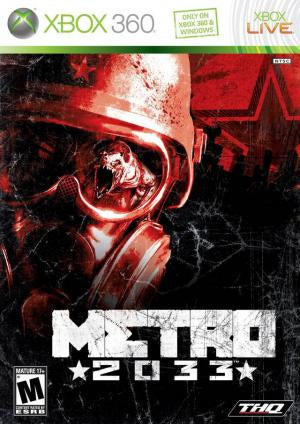Metro 2033 - Xbox 360 (Pre-owned)