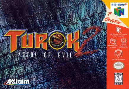 Turok 2 Seeds of Evil - N64 (Pre-owned)