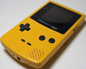 Gameboy Color System Console - Dandelion Yellow (New Screen Cover) - GBC (Pre-owned)