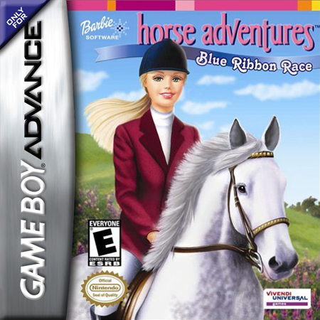 Barbie Horse Adventures Blue Ribbon Race - GBA (Pre-owned)