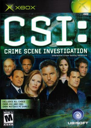 CSI Crime Scene Investigation - Xbox (Pre-owned)