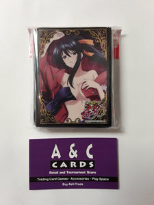"Character Sleeves ""Akeno Himejima"" #1 - 1 pack of Standard Size Sleeves 65pc.- High School DxD"