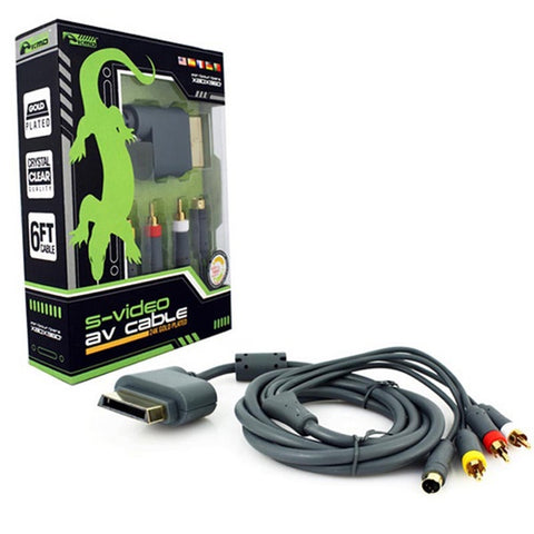 XBOX 360 S VIDEO AV CABLE [KMD]