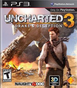 Uncharted 3: Drake's Deception - PS3 (Pre-owned)