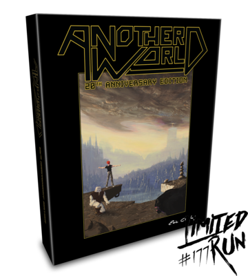 Another World: 20th Anniversary Edition Classic Collector's Edition (Limited Run Games) - PS Vita