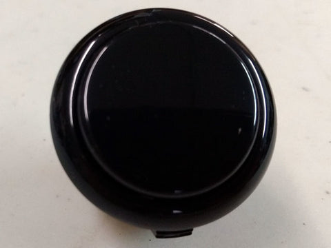 Sanwa Button Solid Colour OBSF-30mm Pushbutton (Black)