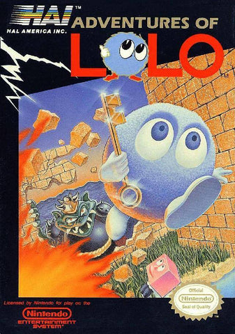 Adventures of Lolo - NES (Pre-owned)