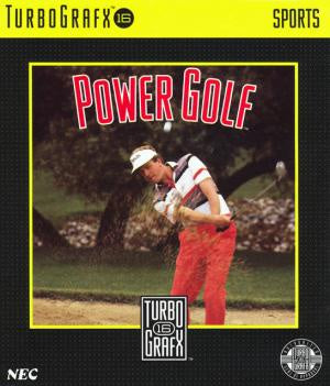 Power Golf - TurboGrafx-16 (Pre-owned)