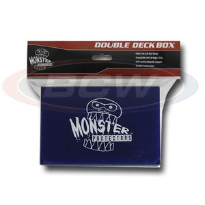 Monster Protectors: Double Deck Box - Matte Blue