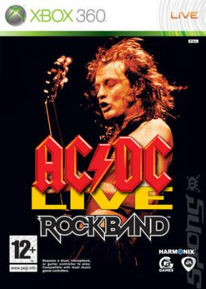 AC/DC Live Rock Band Track Pack - Xbox 360 (Pre-owned)