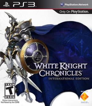 White Knight Chronicles International Edition - PS3 (Pre-owned)