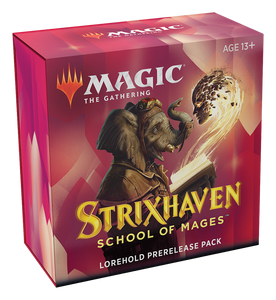 MTG Strixhaven: School of Mages Prerelease Pack Kit with 2 Free Packs - Lorehold