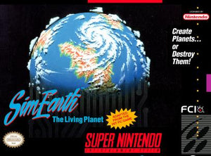 SimEarth the Living Planet - SNES (Pre-owned)