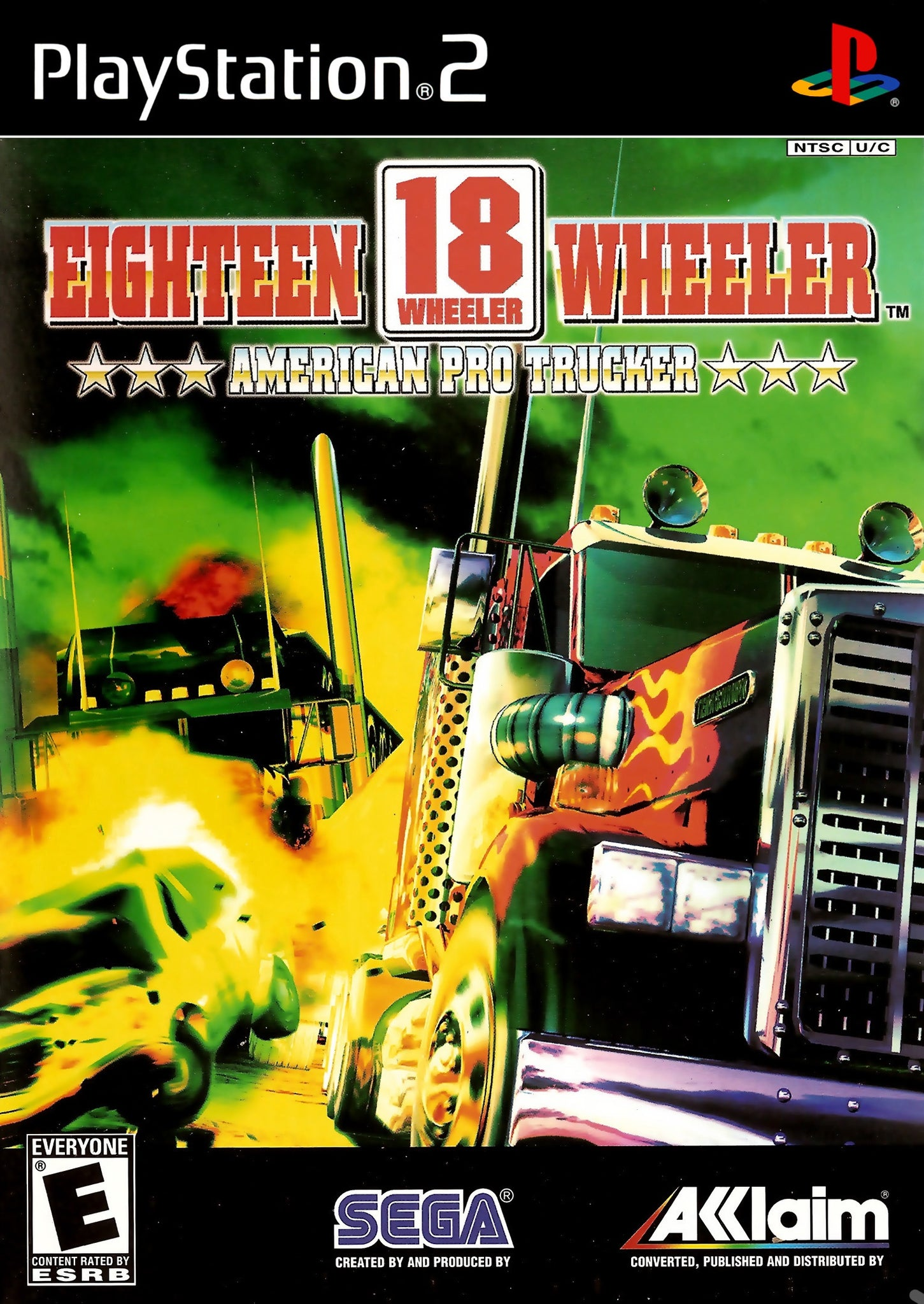 18 Wheeler American Pro Trucker - PS2 (Pre-owned)