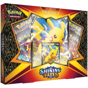 Pokemon: Shining Fates Collection - Pikachu V Box (Limit 6 Per Customer)