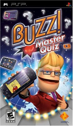 Buzz! Master Quiz - PSP (Pre-owned)