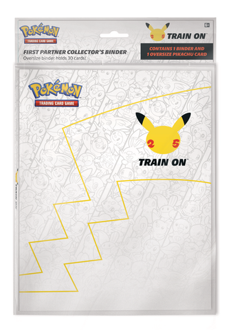 Pokemon: First Partner Collector's Binder (Contains 1 Binder and 1 Oversize Pikachu Card)