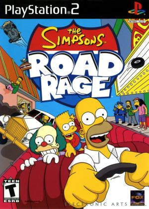 The Simpsons Road Rage - PS2 (Pre-owned)