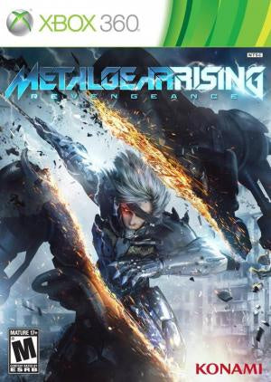 Metal Gear Rising: Revengeance - Xbox 360 (Pre-owned)