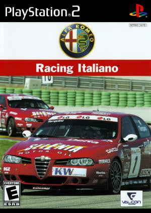 Alfa Romeo Racing Italiano - PS2 (Pre-owned)