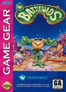 Battletoads - Game Gear (Pre-owned)