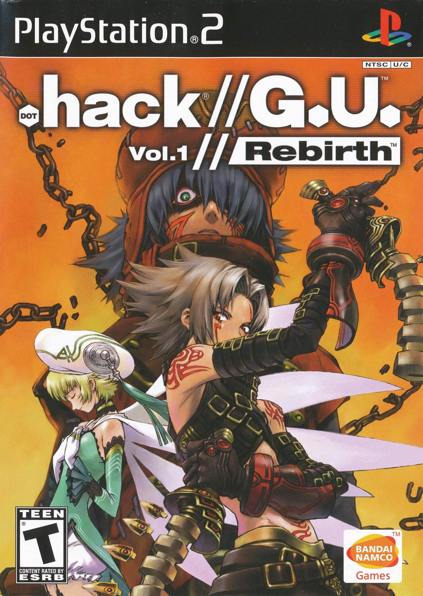 .hack//G.U. Vol.1: Rebirth - PS2 (Pre-owned)
