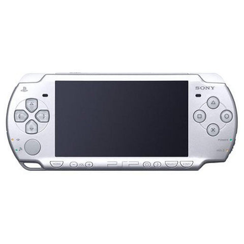 PSP 2000 Ice Silver System Console