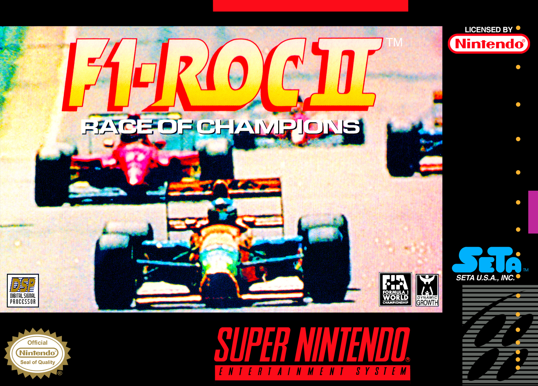 F1 ROC II: Race of Champions - SNES (Pre-owned)