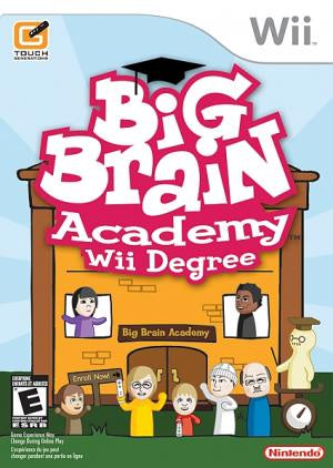 Big Brain Academy Wii Degree - Wii (Pre-owned)