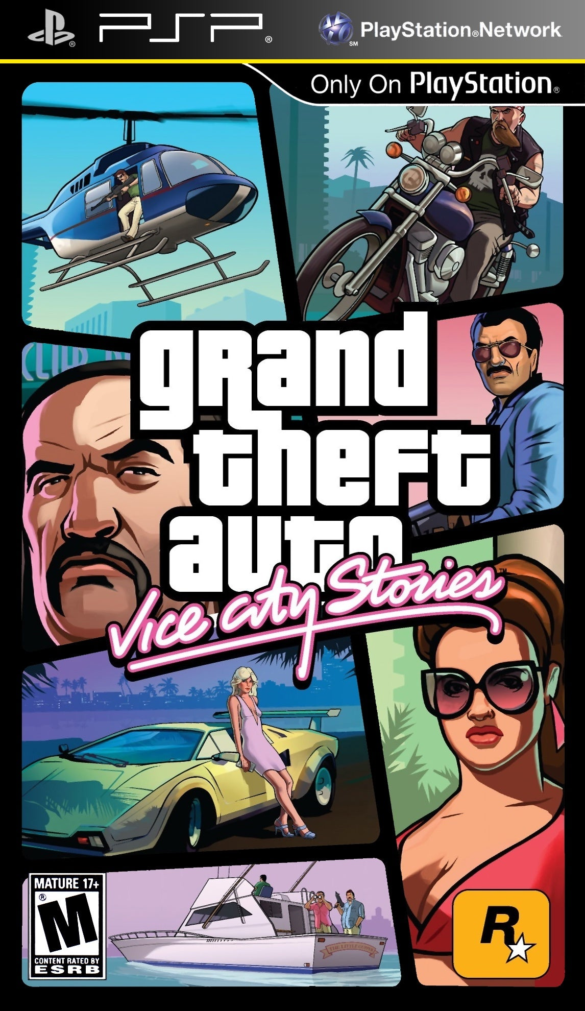 Grand Theft Auto Vice City Stories - PSP (Pre-owned)