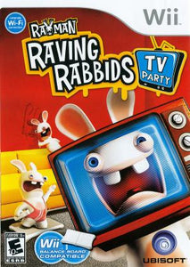 Rayman Raving Rabbids TV Party - Wii (Pre-owned)