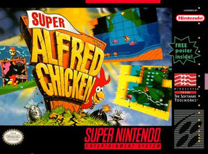 Super Alfred Chicken - SNES (Pre-owned)