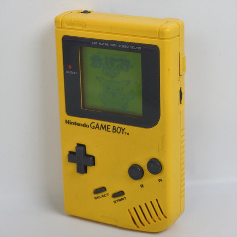 Original Yellow Game Boy Play it Loud DMG-01 System Console