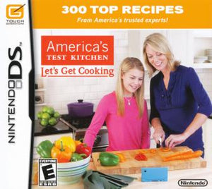 America's Test Kitchen: Let's Get Cooking - DS (Pre-owned)
