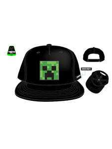MINECRAFT - Creeper Embroidery Cotton Twill Youth