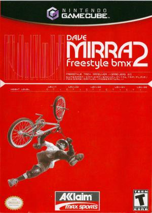 Dave Mirra Freestyle BMX 2 - Gamecube (Pre-owned)