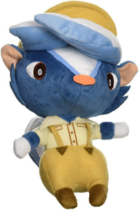 "KICKS ANIMAL CROSSING 7"" PLUSH [LITTLE BUDDY]"