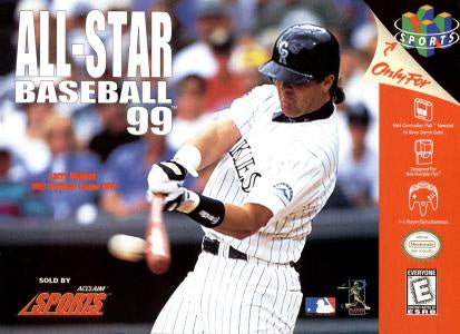 All-Star Baseball 99 - N64 (Pre-owned)