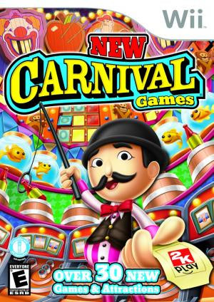 New Carnival Games - Wii (Pre-owned)
